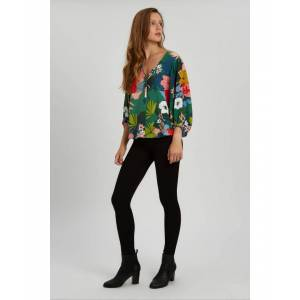 Traffic People Vice Floral Shirt in Multi  - Multicolour - Size: Small