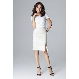 Lenitif Cotton skirt  - Beige - Size: Large