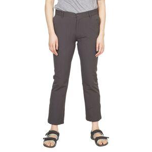 Trespass Womens/Ladies Zulu Cropped Trousers (Dark Grey)  - Grey - Size: 18