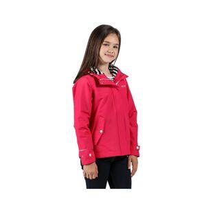 Regatta Girls Bibiana Polyester Waterproof Hydrafort Jacket  - Pink - Size: 14