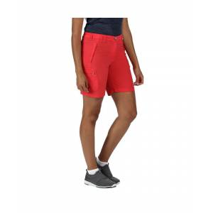 Regatta Womens Chaska II Lightweight Quick Drying Shorts  - Pink - Size: 18