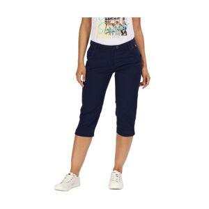 Regatta Womens Maleena Capri II Casual Walking Trousers  - Navy - Size: 18