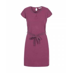 Trespass Womens Lidia Soft Round Neck Dress  - Purple - Size: Medium