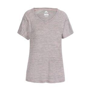 Trespass Womens Inca Quick Drying V Neck T Shirt - Purple - Size 2XS