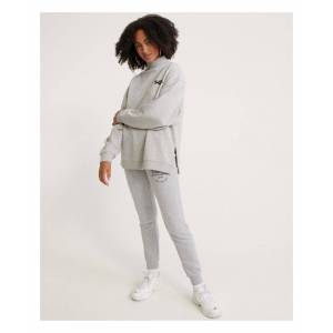 Superdry Applique Joggers  - Grey - Size: 6