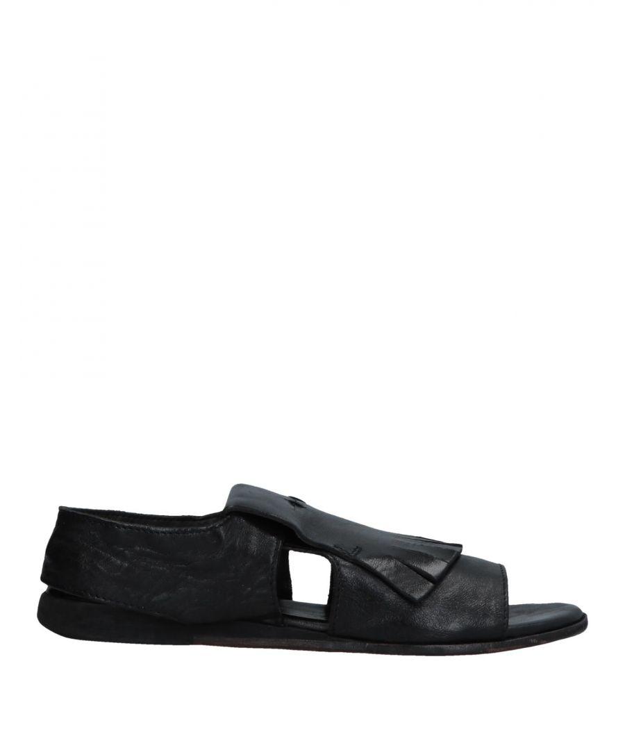 Moma FOOTWEAR Black Woman Leather  - Black - Size: 5