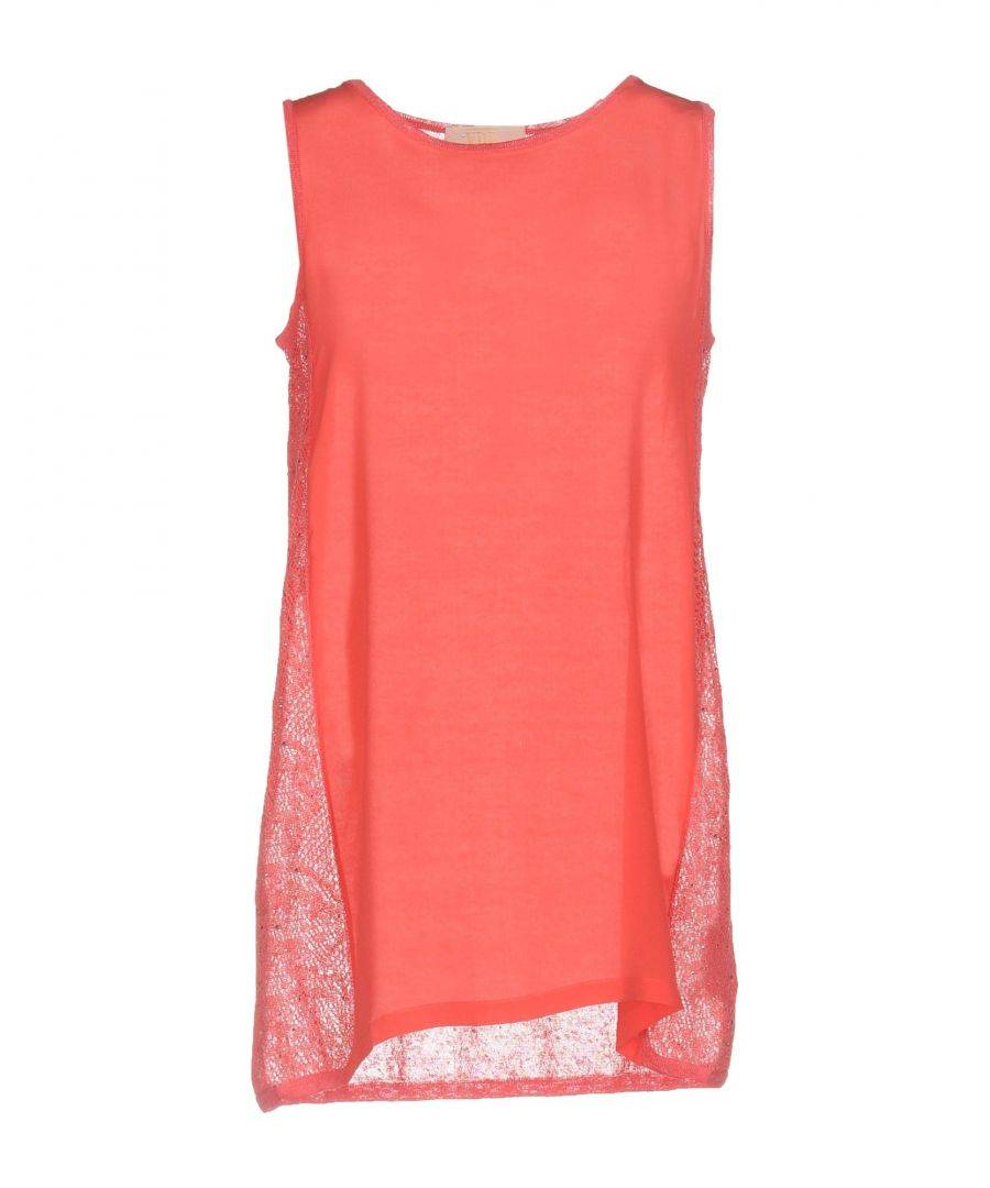 Vdp Collection Womens TOPWEAR Woman Coral Linen - Size 10