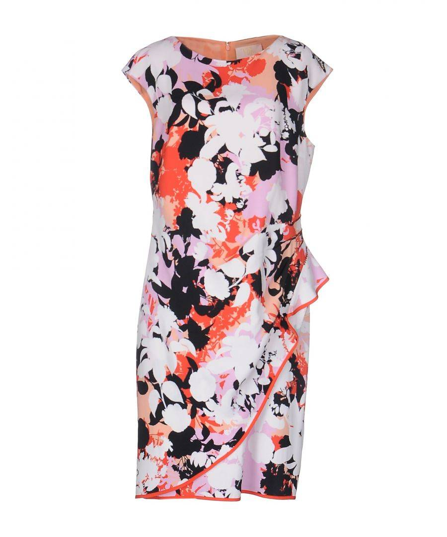 Vdp Collection Womens DRESSES Woman White Viscose - Size 14