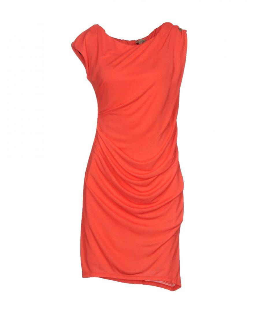 Betty Blue Womens DRESSES Coral Woman Viscose - Size 8