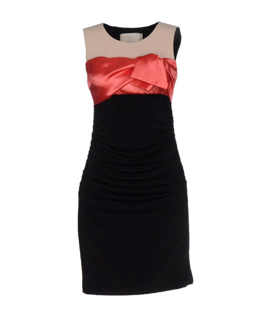 Betty Blue Black Sleeveless Dress  - Black - Size: 12