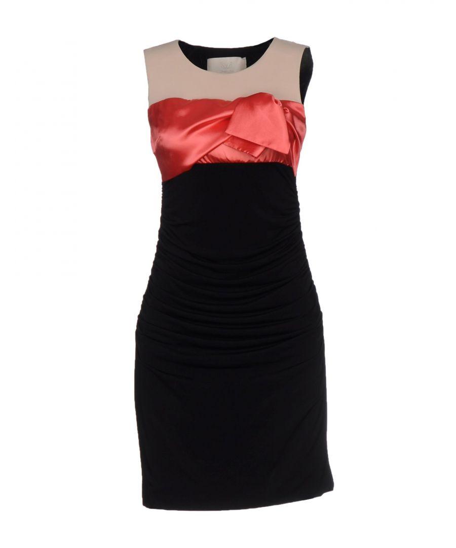 Betty Blue Womens Black Sleeveless Dress Viscose - Size 10