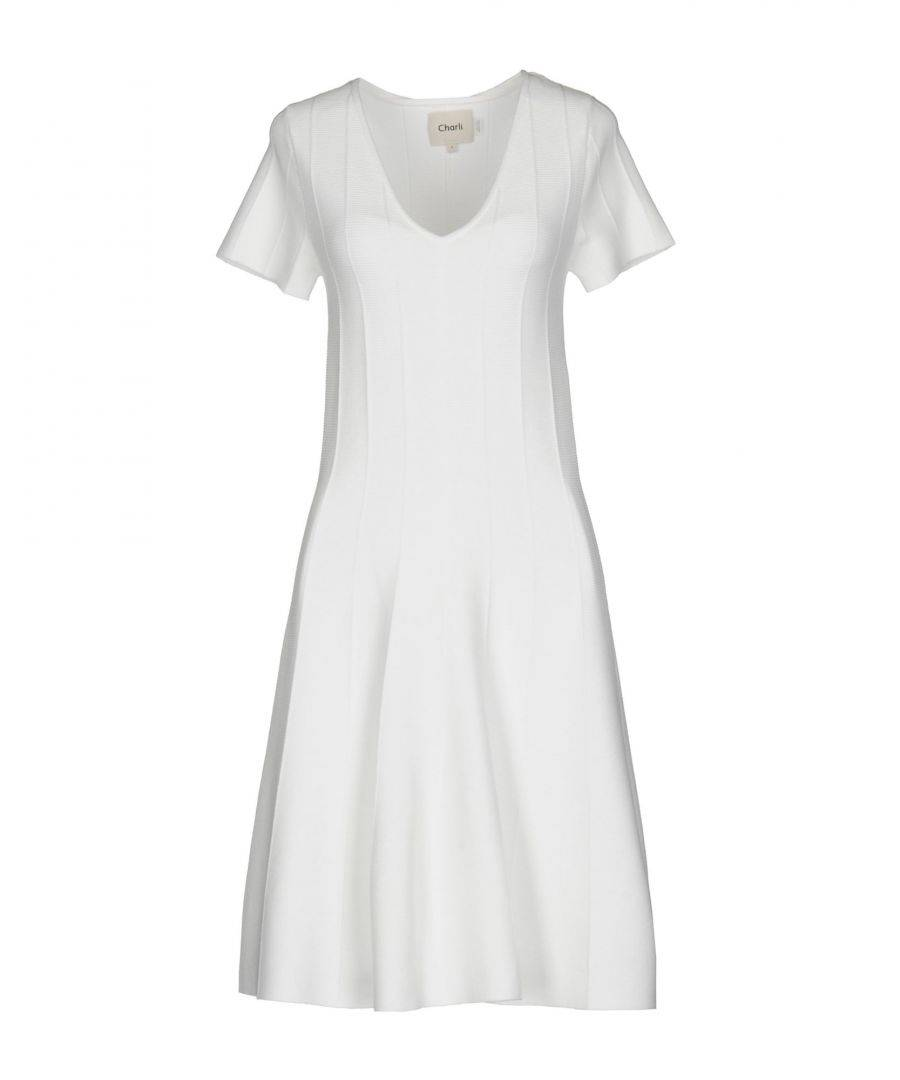 Charli DRESSES White Woman Viscose  - White - Size: Small