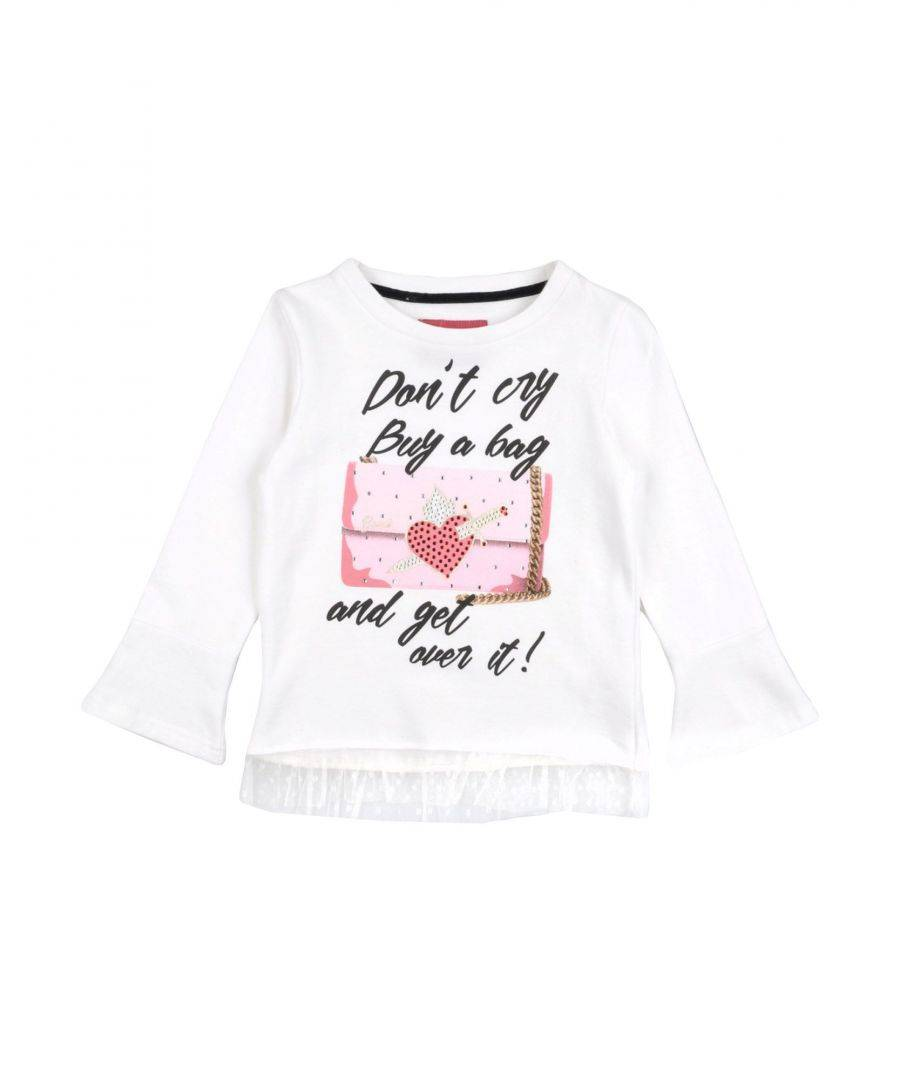 Gaudì Girls TOPWEAR White Girl Cotton - Size 3-4Y