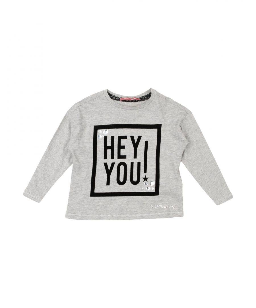 Gaudì Girls TOPWEAR Grey Girl Cotton - Size 2-3Y