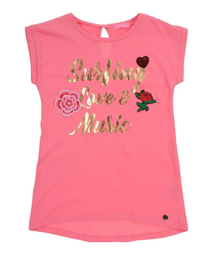 Gaudì Girls TOPWEAR Fuchsia Girl Cotton - Size 13-14Y