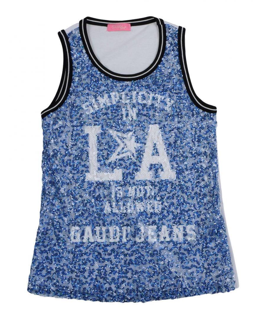 Gaudì Girls TOPWEAR Gaud� Blue Girl Cotton - Size 15-16Y