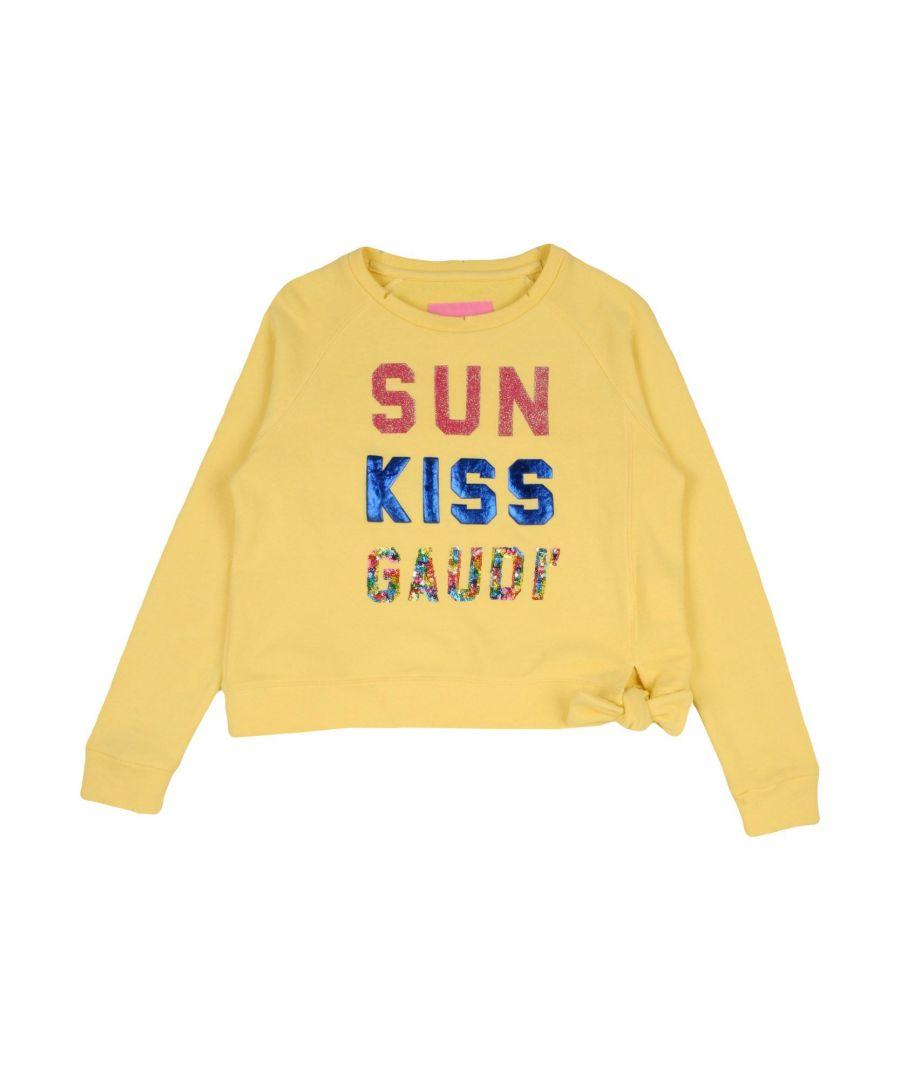 Gaudì Girls TOPWEAR Yellow Girl Cotton - Size 13-14Y