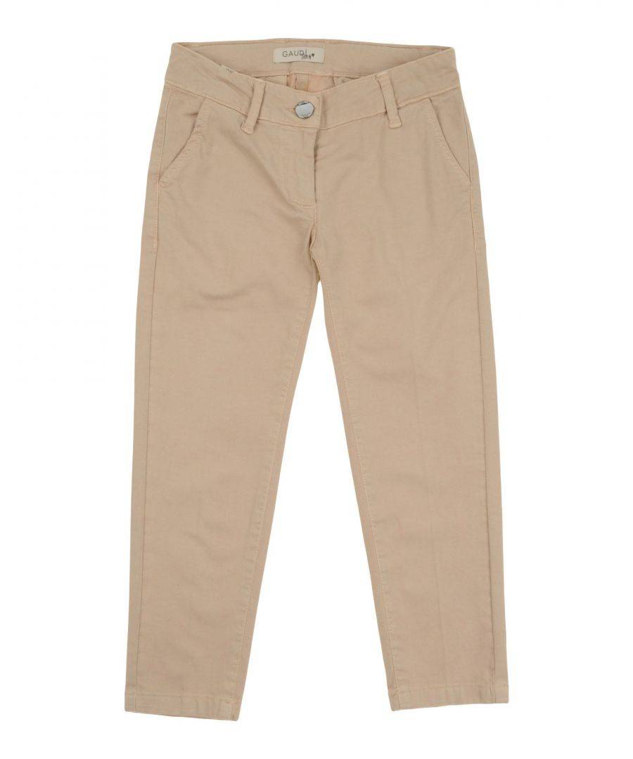 Gaudì Girls TROUSERS Beige Girl Cotton - Size 3-4Y