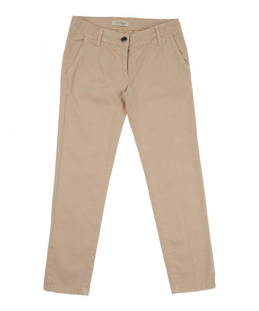 Gaudì Girls TROUSERS Beige Girl Cotton - Size 7-8Y
