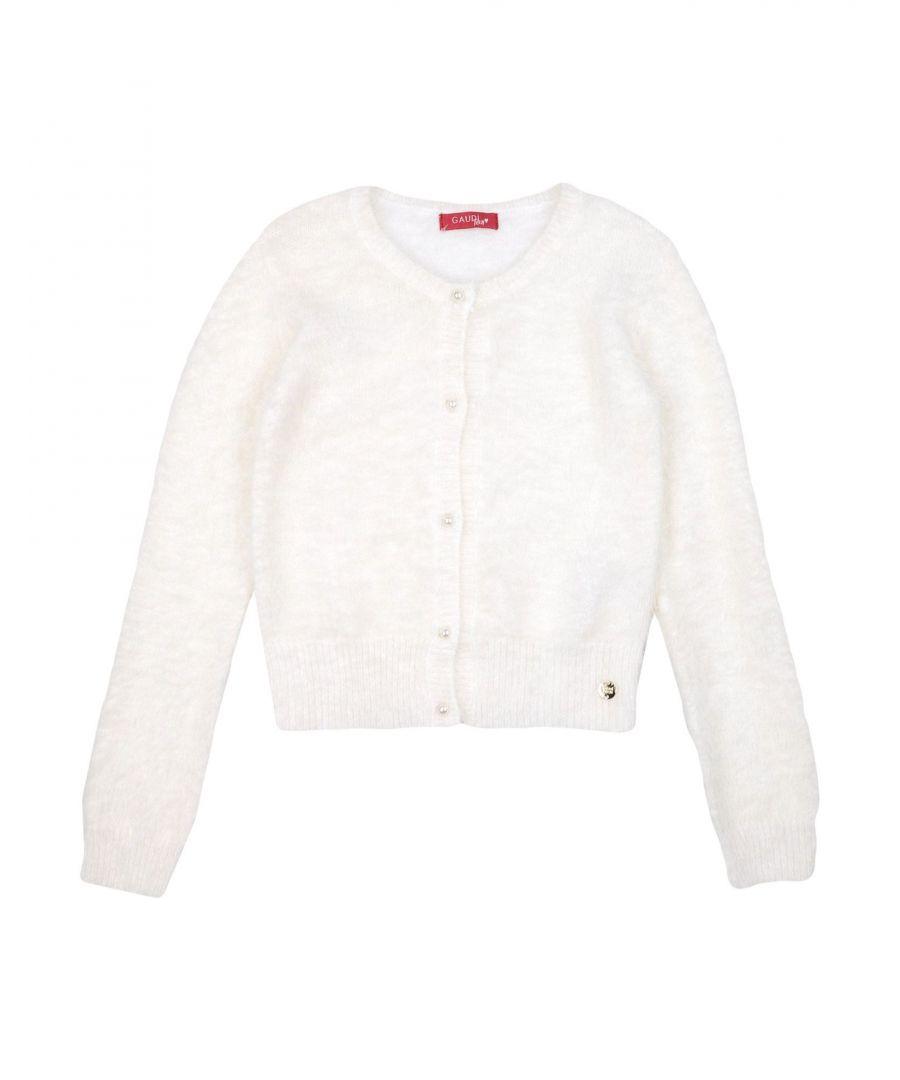 Gaudì Girls KNITWEAR White Girl Polyamid - Size 15-16Y