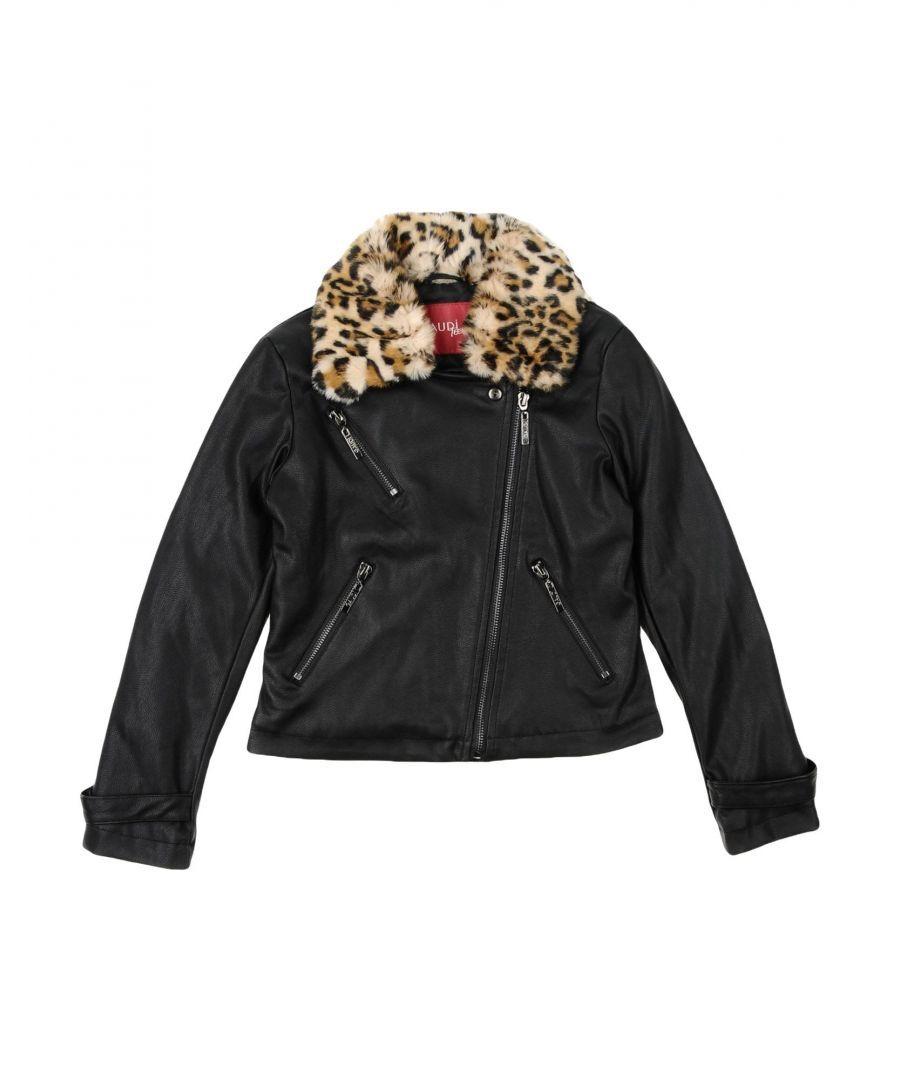 Gaudì Girls COATS & JACKETS Black Girl Viscose - Size 7-8Y