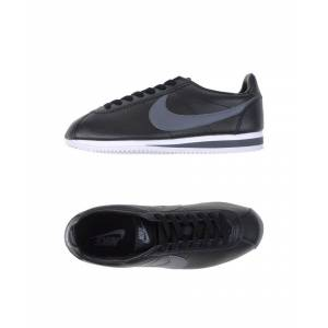 Nike Black Leather Sneakers  - Black - Size: 11.5