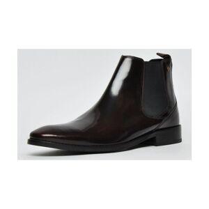 Base London Cheshire Leather Mens  - Burgundy - Size: 6