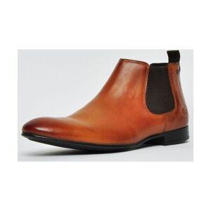 Base London Croft Leather Mens  - Tan - Size: 6