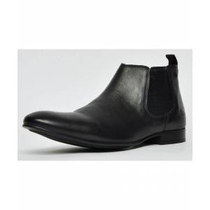 Base London Croft Leather Mens  - Black - Size: 6