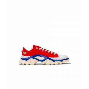 Adidas Originals Men's adidas RS Detroit Runner Trainers in Red Blue  - Red - Size: 10.5