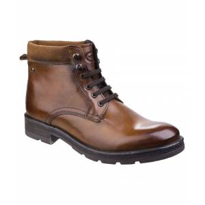Base London Panzer Washed Work Boot  - Tan - Size: 6