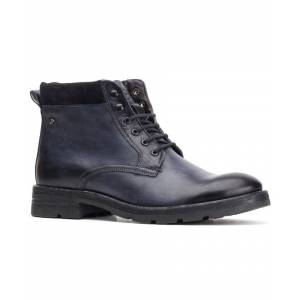 Base London Panzer Washed Work Boot  - Blue - Size: 9