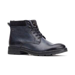Base London Panzer Washed Work Boot  - Blue - Size: 6