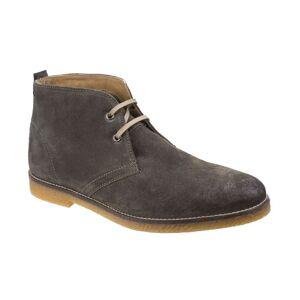 Base London Perry Burnished Leather  - Olive - Size: 12