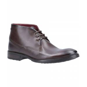 Base London Bramley Burnished Lace Up Ankle Boot  - Brown - Size: 6