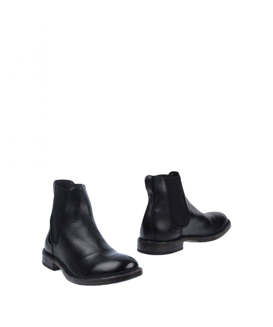 Moma FOOTWEAR Black Man Leather  - Black - Size: 11