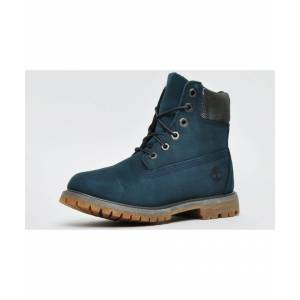 Timberland AF 6 Inch Premium Waterproof Womens Boots  - Blue - Size: 3.5