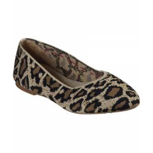 Skechers Womens Cleo Claw Some Slip On Casual Dress Shoes  - Brown - Size: 6