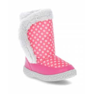 Trespass Girls Babies/Toddlers Tigan Fleece Lined Winter Snow Boot  - Pink - Size: 6.5