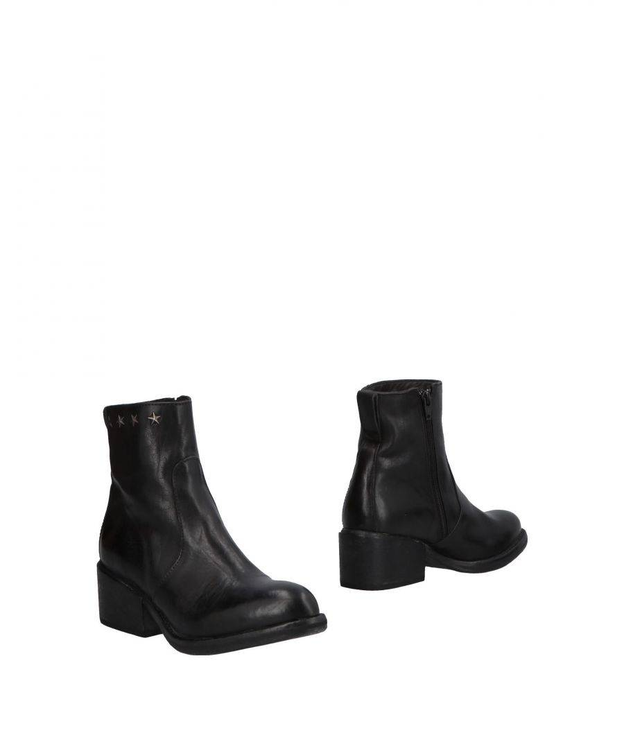Moma FOOTWEAR Black Woman Leather  - Black - Size: 4.5
