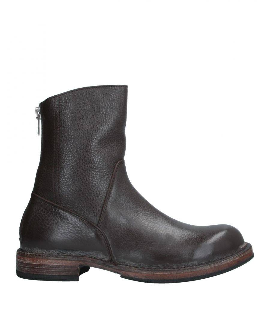 Moma FOOTWEAR Dark brown Woman Calf  - Brown - Size: 6.5