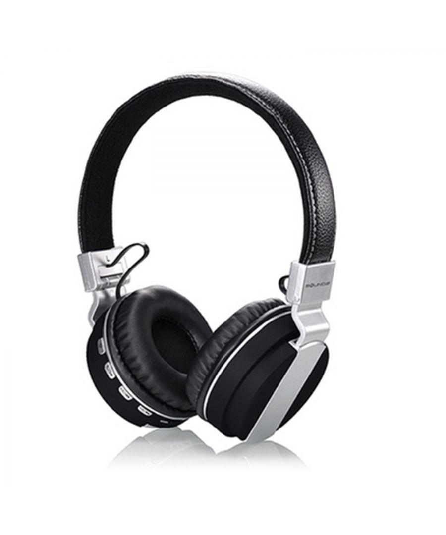 Soundz Bluetooth Headphone 900BT Black  - Size: One Size