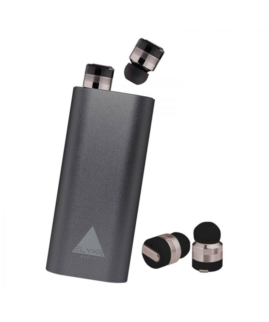Elyxr Audio Air True Wireless Earbuds Gunmet  - Size: One Size