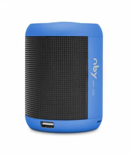 NBY Small LED Light Speakers Blu...