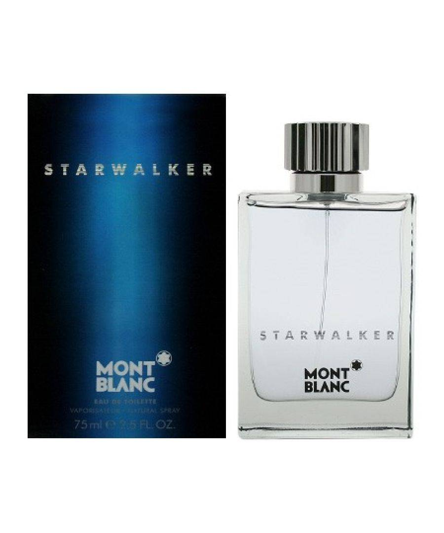 Mont Blanc Mens Starwalker Aftershave Lotion 75ml - Size 100ml
