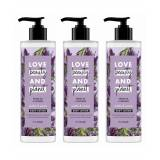 Love Beauty & Planet Soothe and Serene Argan Oil Lavender Body Lotion 400ml (Pack of 3)  - Size: One Size