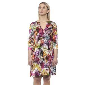 Alpha Studio Womens V A R. U N I C Dress - Brown - Size Medium