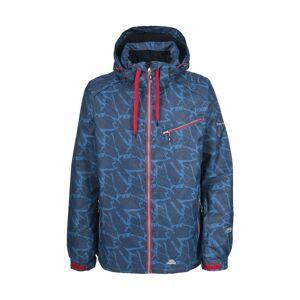 Trespass Mens Winston Waterproof Winter Ski Jacket (Navy Print) - Size L