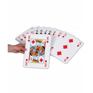 Doodle Jumbo Playing Cards Garden Game - One Size