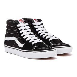 Vans SK8 Hi Black / White Trainers  - Black - Size: UK 9
